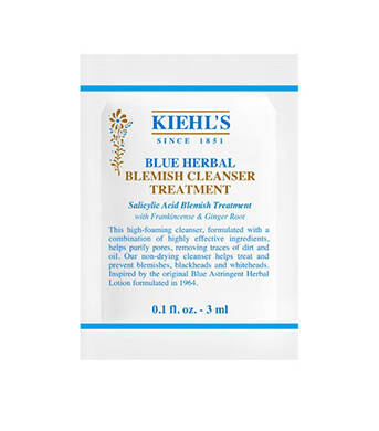 Blue Herbal Cleanser Sample 3ml