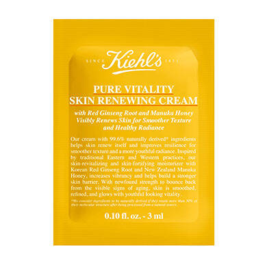 Pure Vitality Skin Renewing Cream Sample