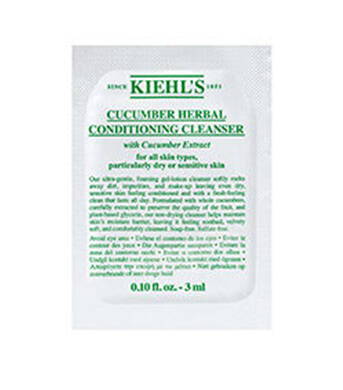 Cucumber Herbal Conditioning Cleanser 3ml
