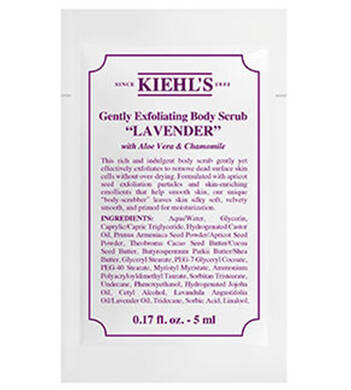 Gently Exfoliating Body Scrub - Lavender 5ml