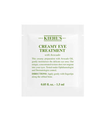 Creamy Eye Treatment with Avocado Sample 1.5ml
