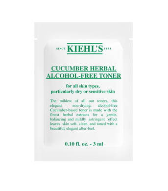 Cucumber Herbal Alcohol Free Toner Sample