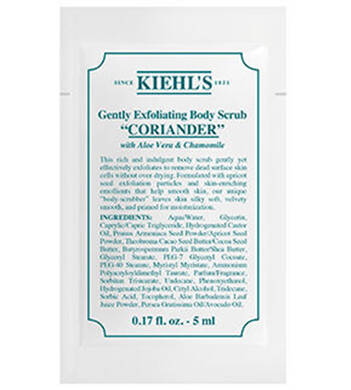 Gently Exfoliating Body Scrub - Coriander 5ml